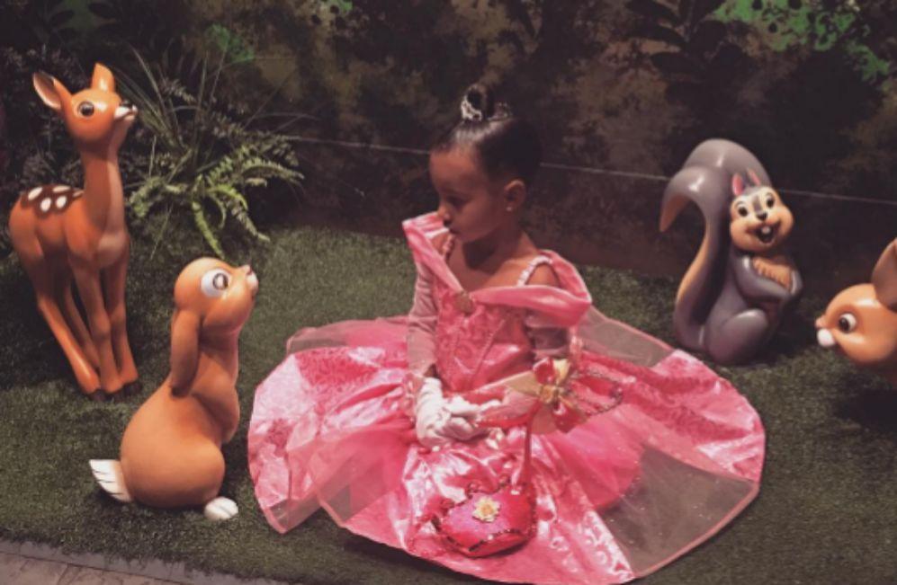 Kim Kardashian celebró ayer el tercer cumpleaños de su hija North en...