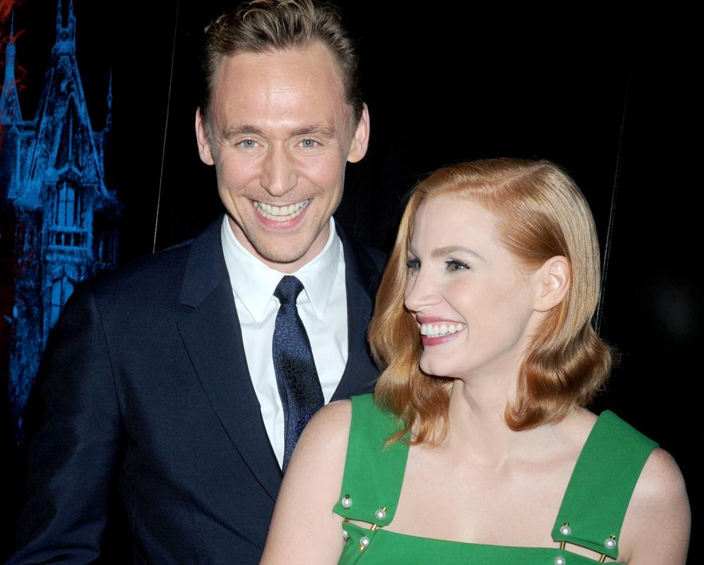 Tom y Jessica Chastain comenzaron a salir en 2013, a pesar de que la...