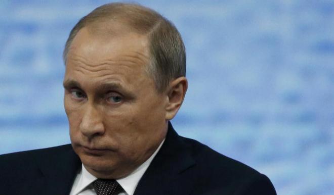 Vladimir Putin, este viernes en Moscú.