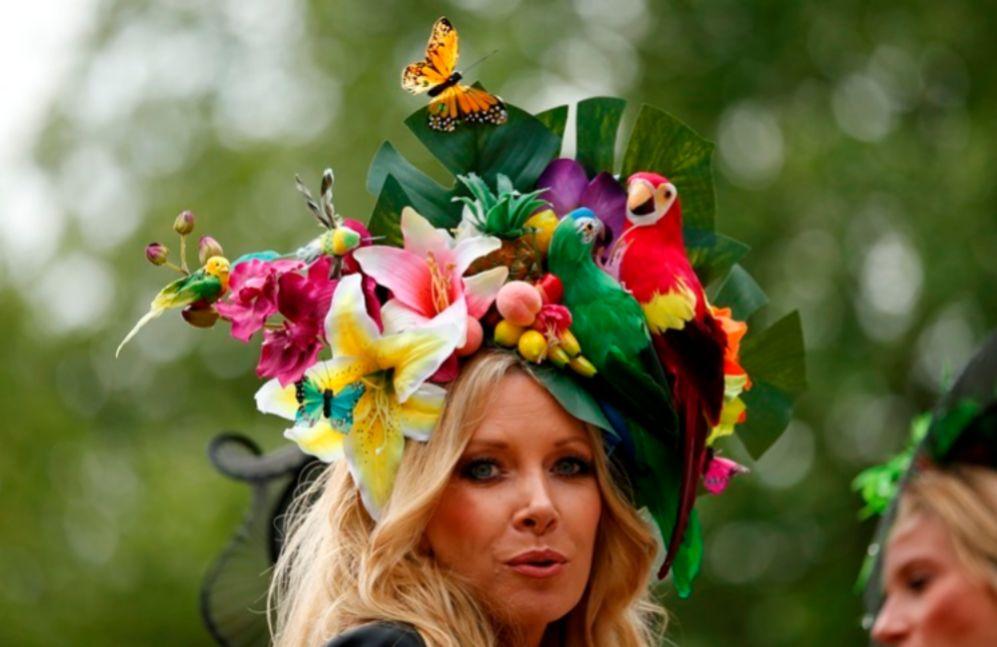 17446b9db6cbc Los sombreros más vistosos de Ascot - Los ingleses sin duda son los ...