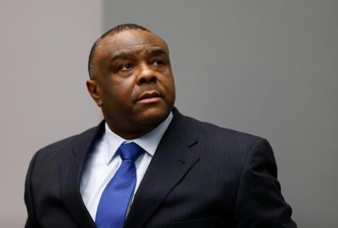 Jean-Pierre Bemba, en la Corte Penal Internacional.