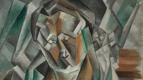 'Femme assise' de Picasso.
