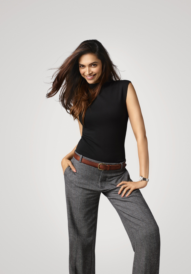 La actriz Deepika Padukone.