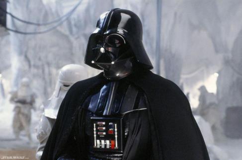 Darth Vader durante 'El Imperio contrataca', la segunda...