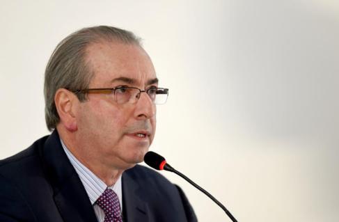 Eduardo Cunha, en rueda de prensa el pasado 21 de junio.