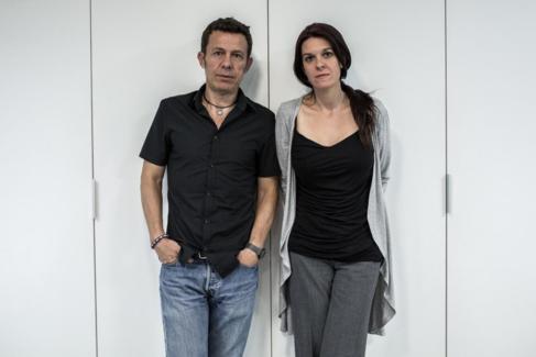 Los periodistas Javier Espinosa y Mónica García Prieto, este jueves,...