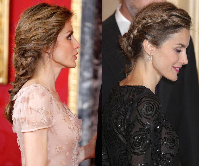 Los Seis Peinados De La Reina Letizia Belleza El Mundo