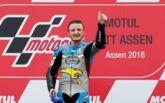 Miller, en el podio de Assen.