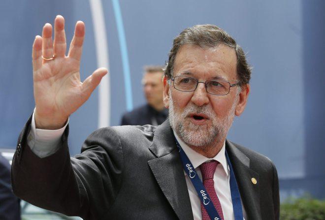 Mariano Rajoy a su llegada ayer al Consejo Europeo celebrado en...