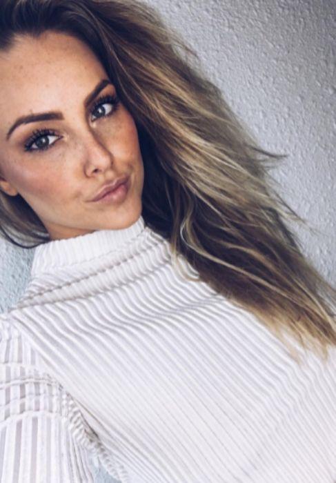 Stefania Jakobsdottir, novia del centrocampista Runar Mar...