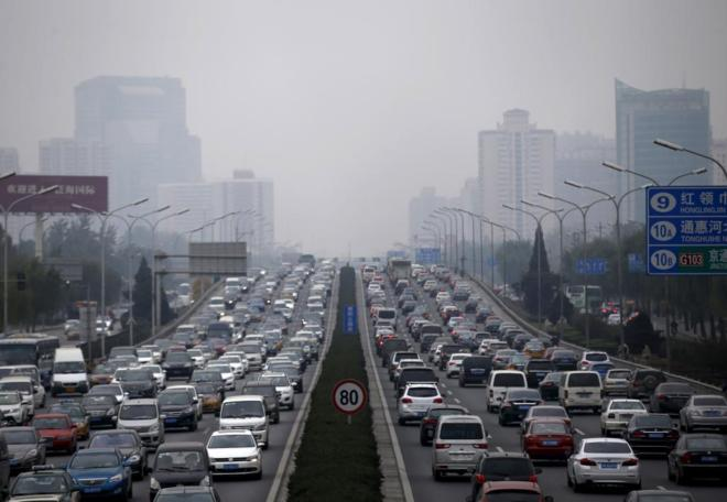 Pekín se hunde 11 centímetros al año por el bombeo excesivo de sus aguas subterráneas