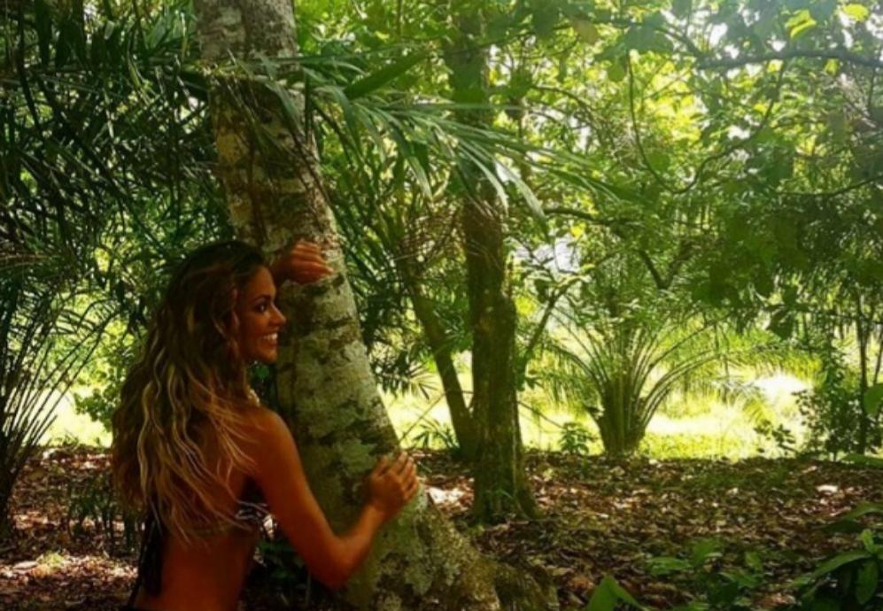 ¡Qué feliz está Lara Álvarez en Honduras! A pesar de que a la...