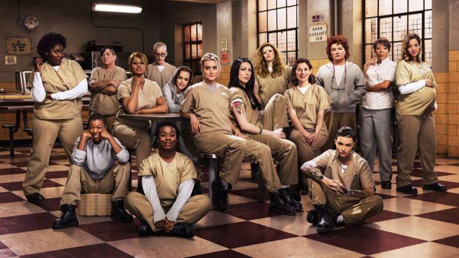 Las protagonistas de 'Orange Is The New Black'.