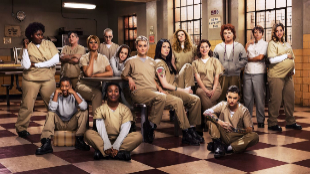 Las protagonistas de 'Orange Is The New Black'.