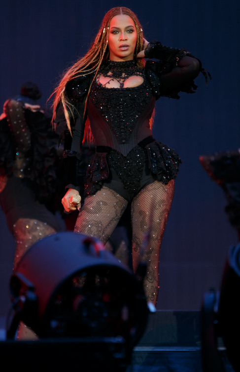 Beyoncé presentó su nuevo álbum 'Lemonade' en Londres, en su primer...