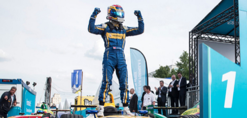 Sebastien Buemi (Renault e.Dams), campeón de la Fórmula E