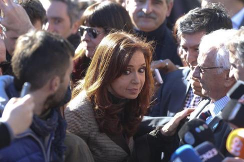 La ex presidenta argentina Cristina Fernández de Kirchner.