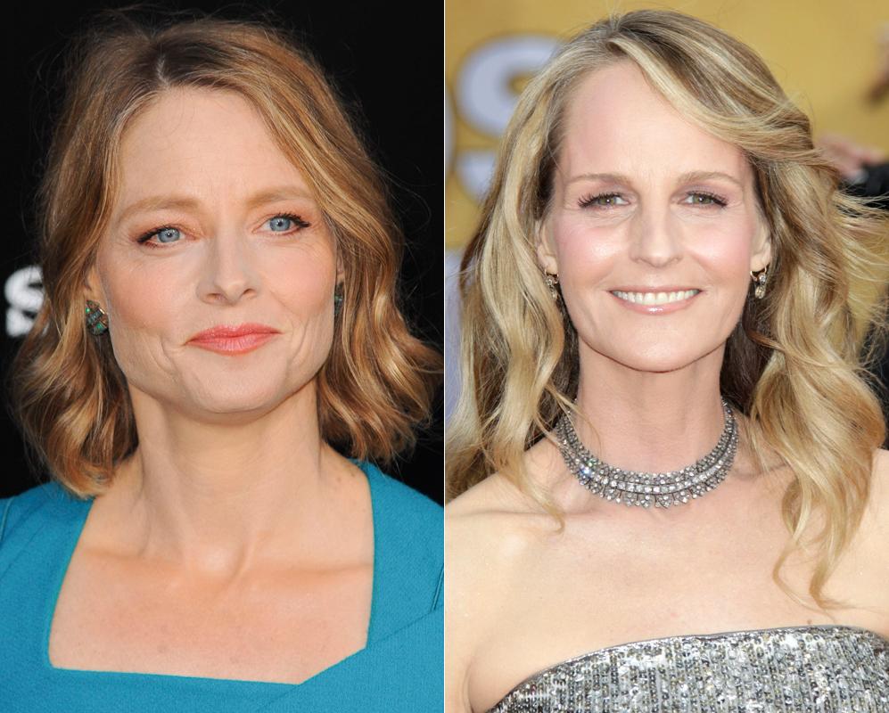 Jodie Foster y Helen Hunt. En las parejas de clones siempre hay uno...