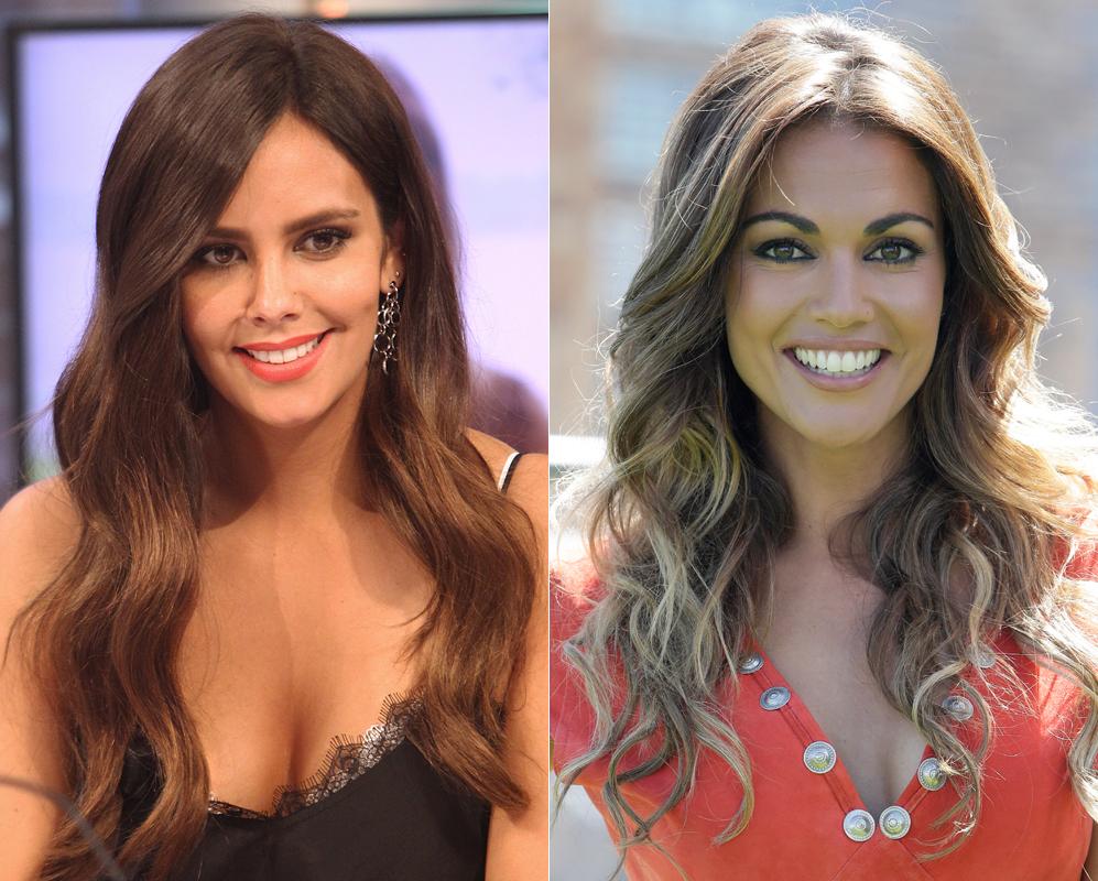 Lara Álvarez y Cristina Pedroche. ¿Pero qué está pasando en la...
