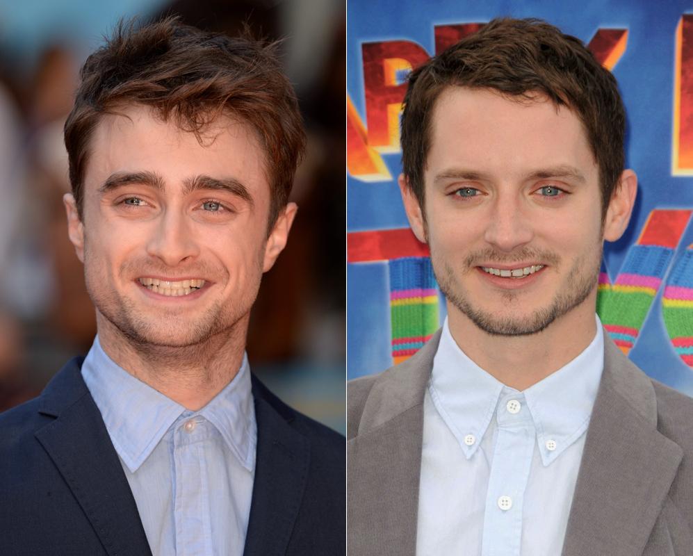 Elijah Wood y Daniel Radcliffe. Harry Potter y Frodo unidos por la...