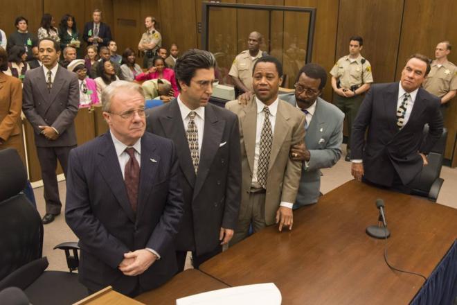 Escena de 'American Crime Story: The People vs. O. J. Simpson'.