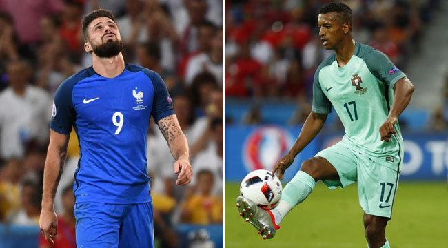 Eurocopa 2016  Nani y Giroud 8268d7db38903