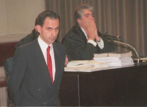 Varela en una imagen de archivo durante un juicio en Barcelona en 1998