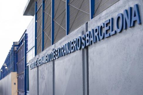 Imagen del Centro de Internamiento de Extranjeros (CIE) de la Zona...