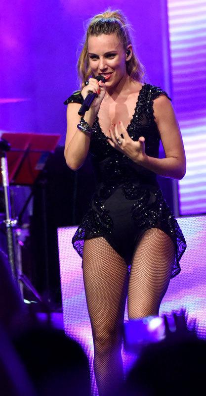 Edurne. El escándalo de De Gea ha hecho que su pareja, la cantante...