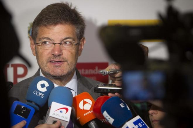 Rafael Catalá este lunes en la UIMP