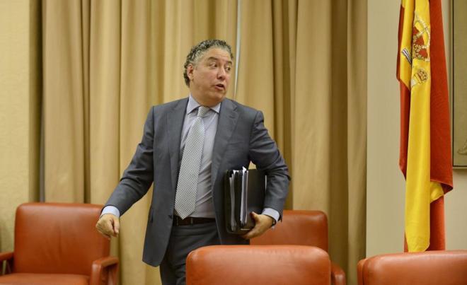 El secretario de Estado de la Seguridad Social, Tomás Burgos,...