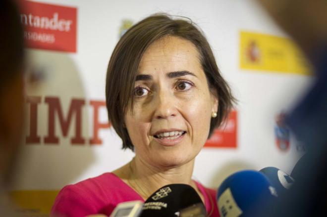 María Seguí, en un curso celebrado la pasada semana en Santander.