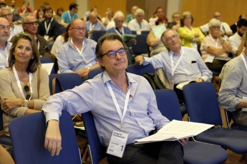 Artur Mas en el congreso fundacional de la nueva CDC