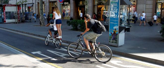 Con el peligro en los pedales