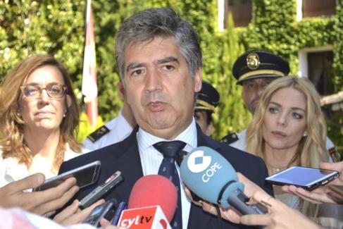 Ignacio Cosidó en un acto de la Policía.