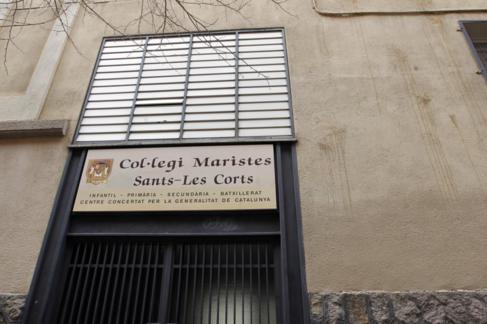 Centro de Secundaria de los Maristas de Sans en la calle Vallespir 160...
