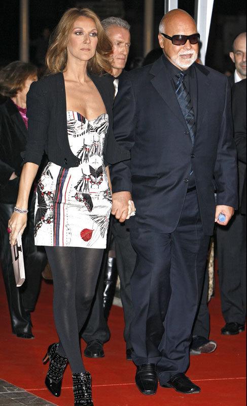 Céline Dion. La larga enfermedad de su marido y manager, René...