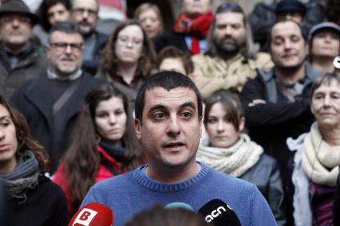 El ex diputado de la CUP, Quim Arrufat.