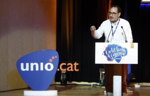 Ramon Espadaler en el 26 Congreso de UNIÓ en el auditorio de la ONCE...