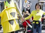 Protesta antinuclear després de l'accident de Fukushima.
