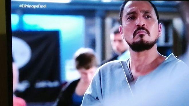 Naoufal Azzouz en la serie 'El príncipe'.