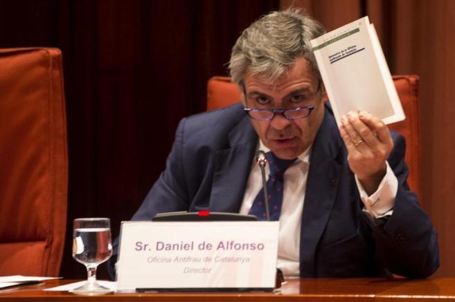 El director de la Oficina Antifraude de Cataluña, Daniel de Alfonso.