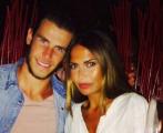 La pareja formada por Gareth Bale y Emma Rhys-Jones.