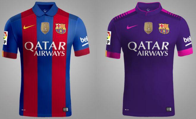 2f0c1221f Las camisetas del Barcelona para el curso 2016-2017. AGENCIAS