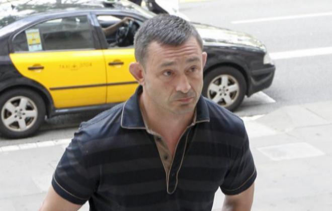 Andrei Petrov se dirige a un juicio en junio de 2015 en Barcelona.