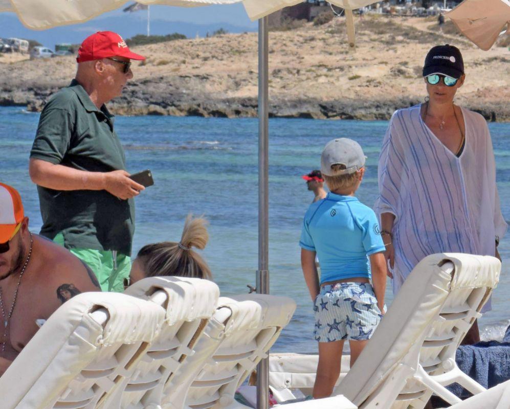 A sus 67 años, Niki Lauda está disfrutando de unas vacaciones de...