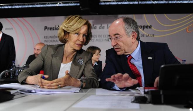 La vicepresidenta segunda del Gobierno y ministra de Economía y...