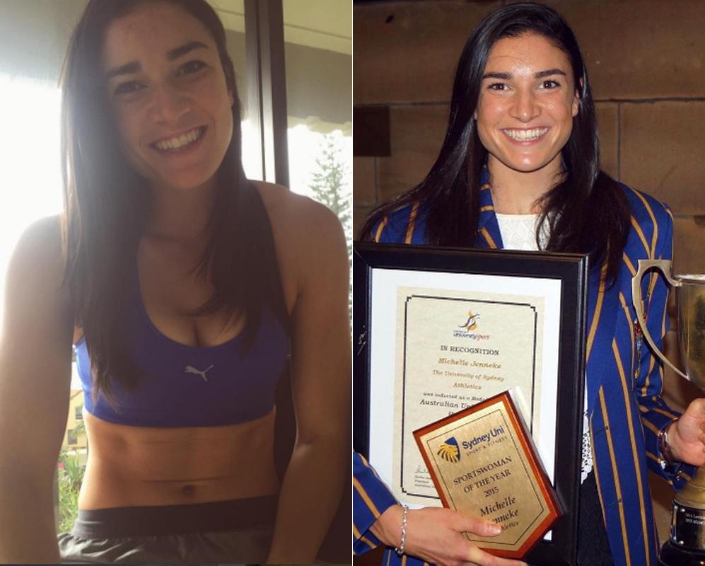 Michelle Jenneke. Primeras Olimpiadas para la atleta australiana...