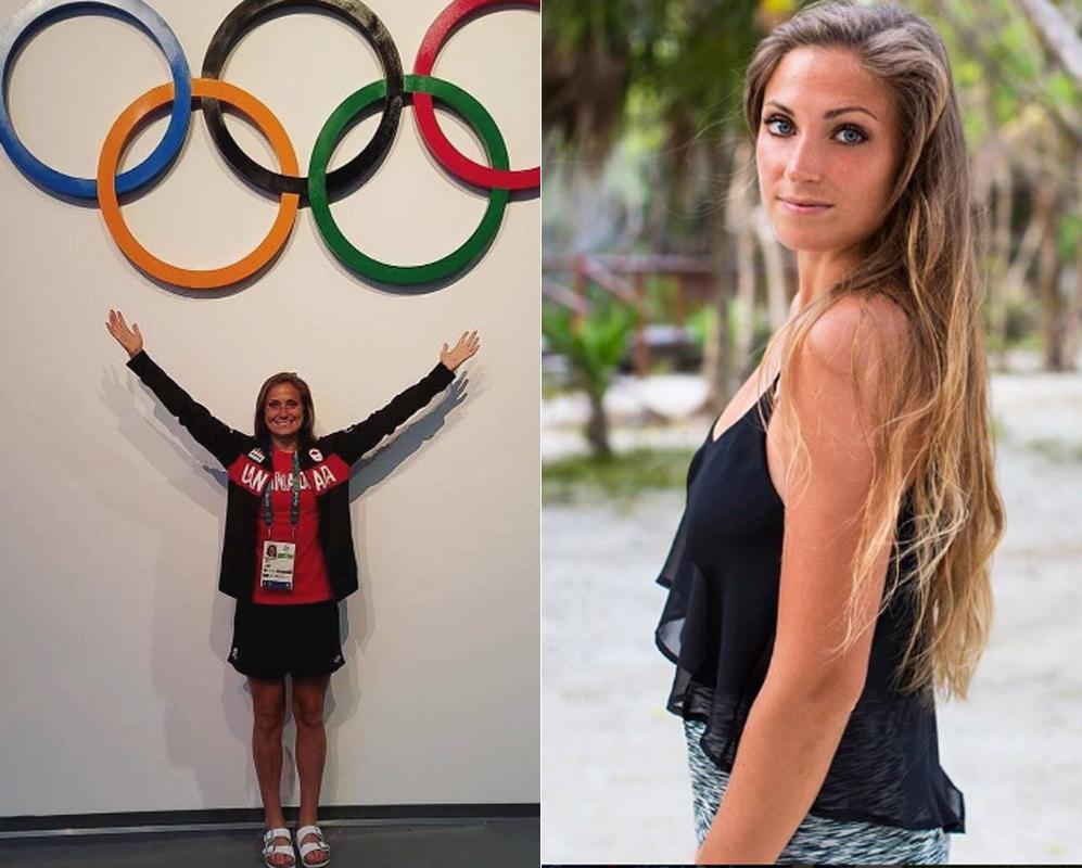 Shelina Zadorsky. Veintitrés años tiene la estrella de la selección...