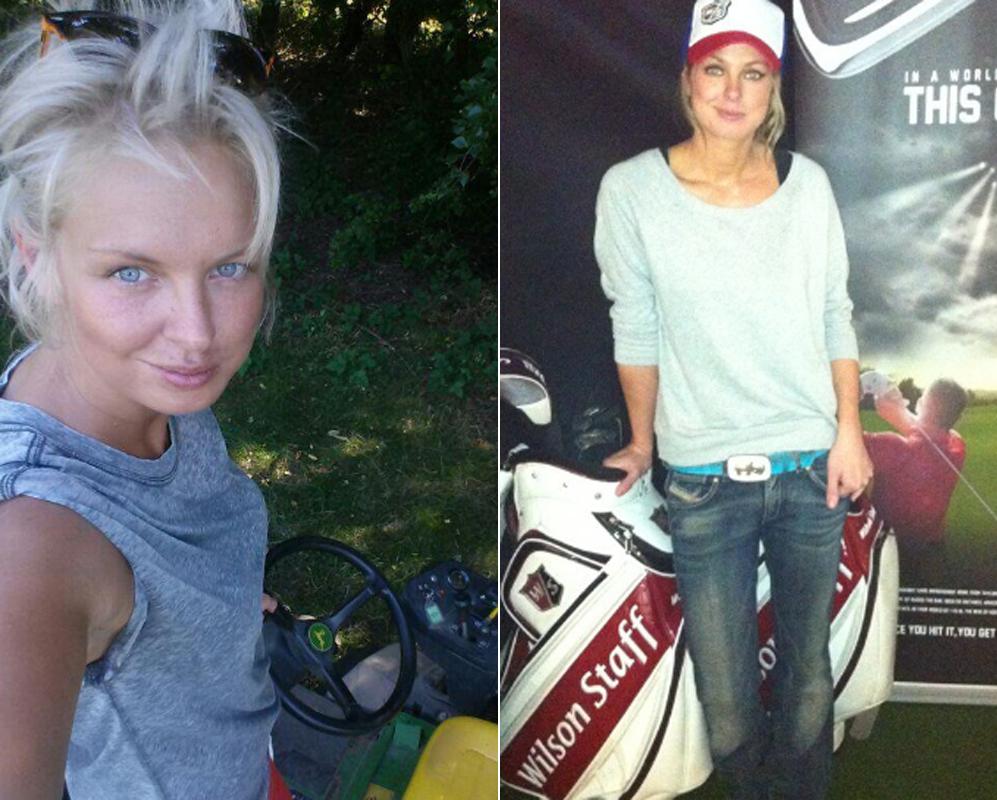 Sophie Horn. Más que su carrera como jugadora de golf, lo que ha...